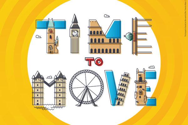 """Eurodesk kampaň ,,Time to Move"""" je späť: Stovky podujatí po celej Európe ti odhalia nové možnosti"""