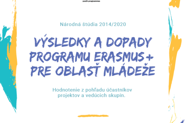 Preskúmali sme dopady programu Erasmus+ pre oblasť mládeže