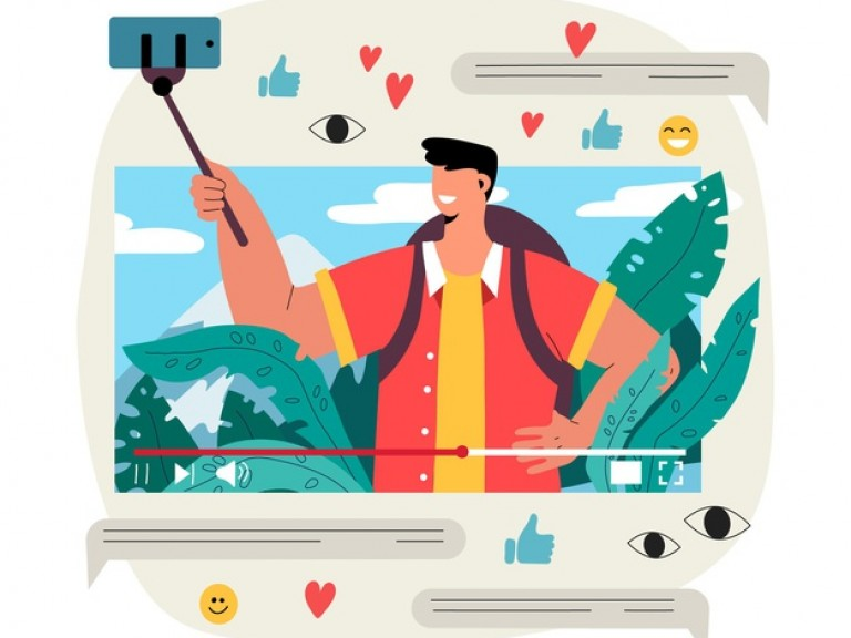 influencer-video-blogging-illustration_23-2148642924